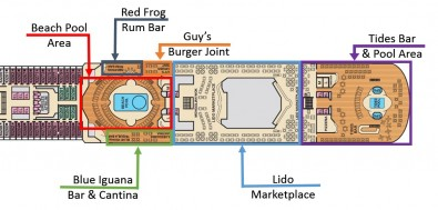 Deck 10 - Lido