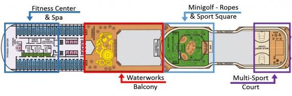 Deck 12 - Spa